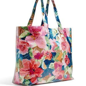 Vera Bradley Superbloom City Shopper Tote in Super